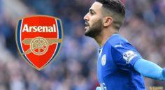 Mercato : Mahrez veut rejoindre Arsenal !