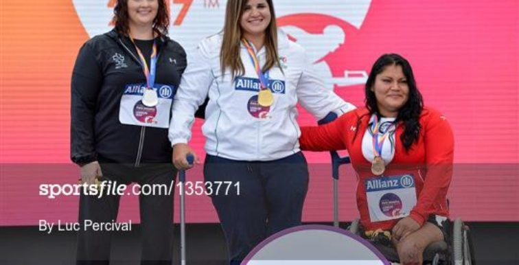 Handisport : Nassima Saifi en or au lancer de poids (F57)