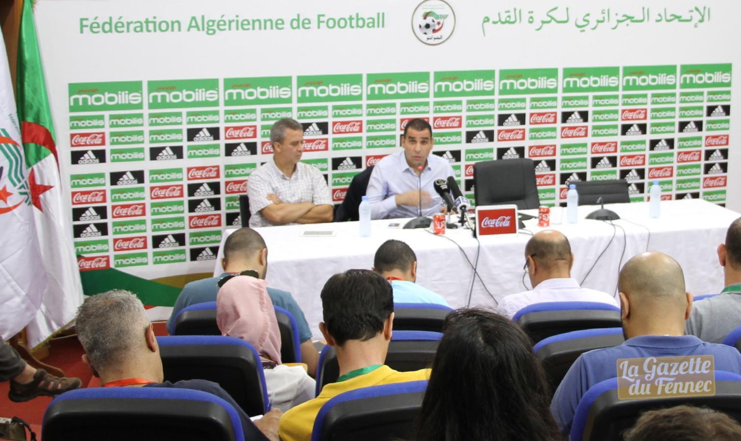 zetchi en conference presse