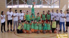 Basket-ball : lancement d'un programme avec l'Académie de Barcelone