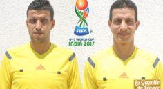 Mondial U17 India 2017: Les arbitres algériens Abid Charef et Etchiali retenus