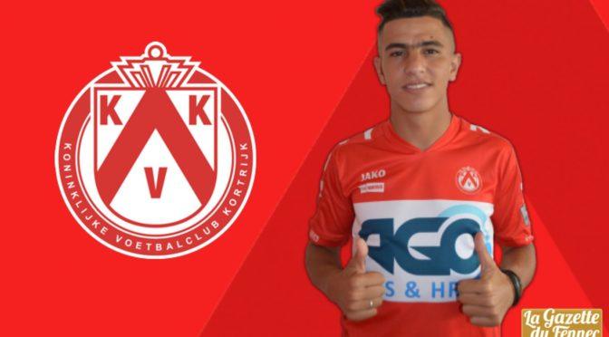 KV Courtrai : Youcef Attal est (enfin) arrivé !