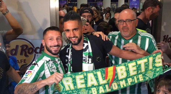 Espagne : accueil royal pour Boudebouz à Séville !