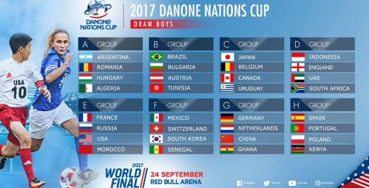 Danone Cup : l'Algérie face à l'Argentine !