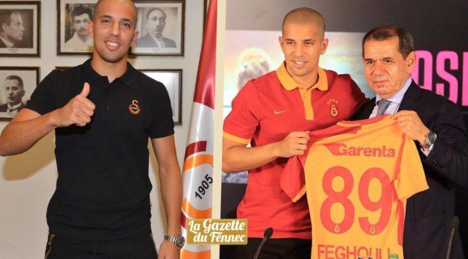 Galatasaray : Feghouli s'engage officiellement pour 5 saisons