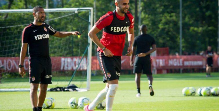 Monaco : premières images de Ghezzal à l'entrainement