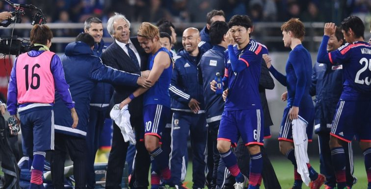 CM 2018 : Halilhodzic qualifie le Japon !