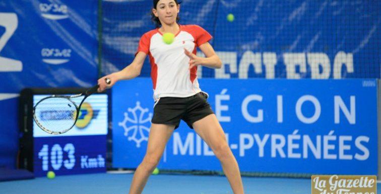 Tennis : Inès Ibbou à la 629e place