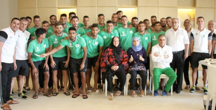A' : visite des champions olympiques de handisport