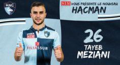 Mercato : Tayeb Meziani rejoint officiellement le Havre