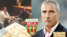 MCA : Bernard Casoni nouvel entraîneur
