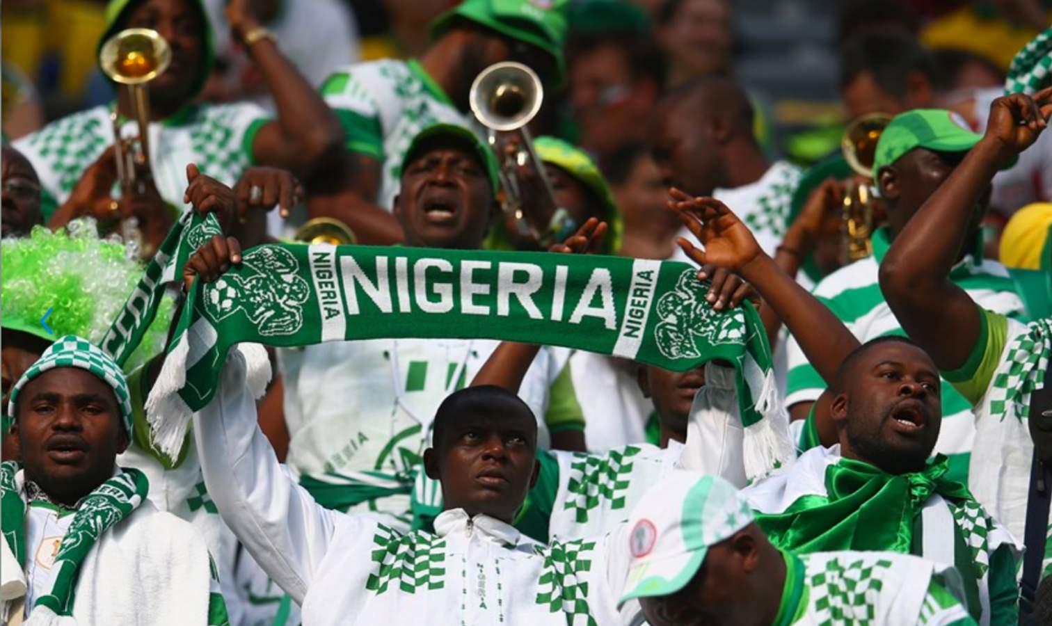 nigeria supporters public