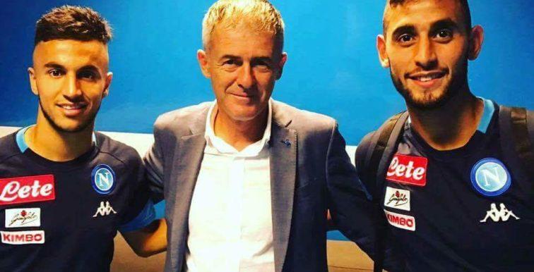Lucas Alcaraz a achevé sa tournée italienne à Naples