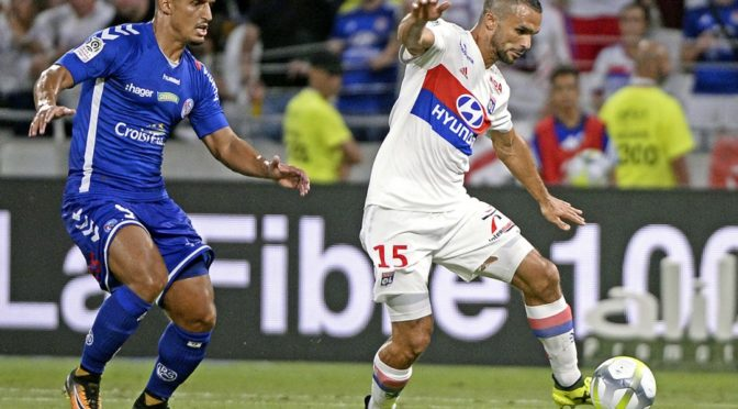 Ligue 1 : lourde défaite 4-0 pour Saadi face à Lyon
