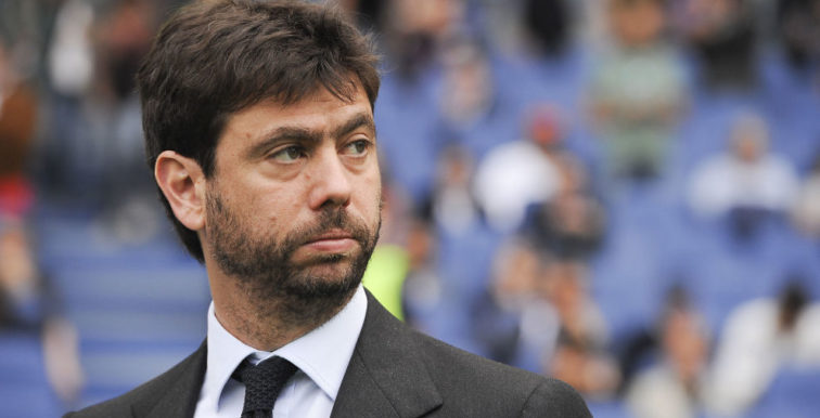 Juventus : Le président Agnelli suspendu une année