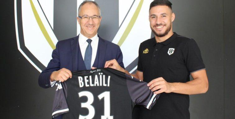 Angers : Belaïli officiellement présenté !