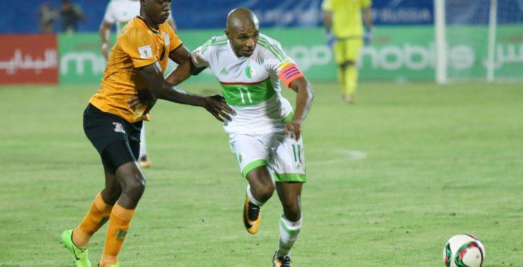 EN : Brahimi forfait pour le déplacement au Cameroun
