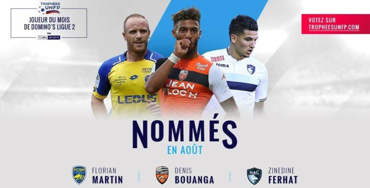 Ligue 2 : Ferhat nommé pour le trophée du joueur du mois