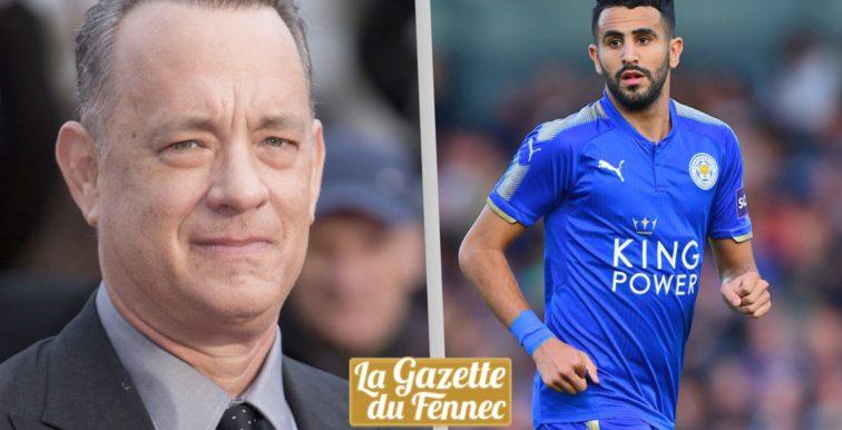 """Leicester : Mahrez surnommé """"Tom Hanks"""""""