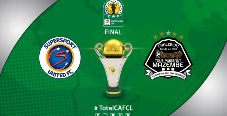 CAF : programme de la finale TP Mazembe – Supersport