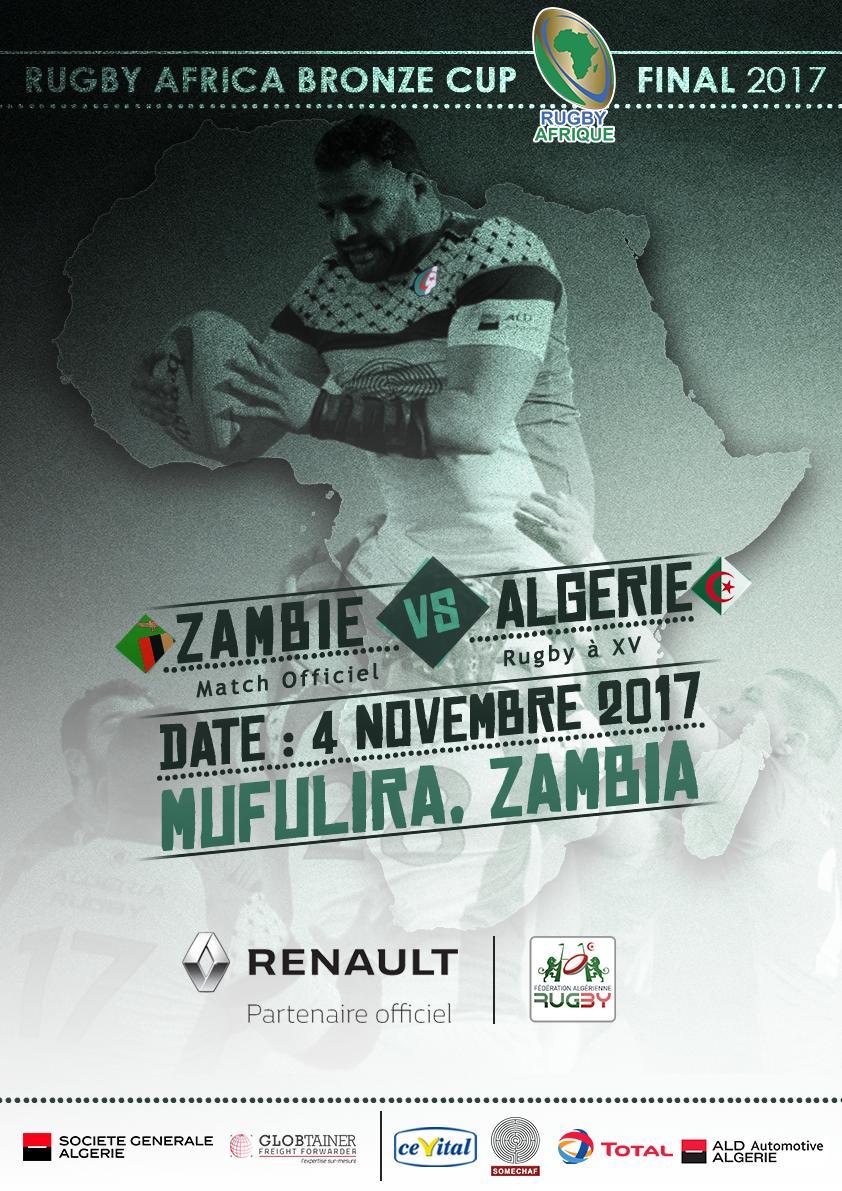 Affiche Zambie Bronze Cup 2017