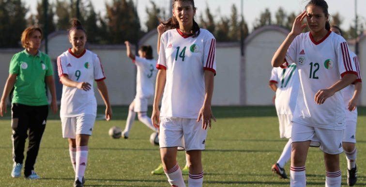 U17 féminine : préparation en vue du match contre le Mali