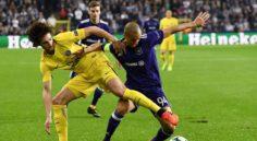 LDC : Hanni chute lourdement avec Anderlecht face au PSG (4-0)
