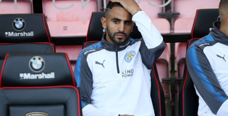 Leicester : Shakespeare explique la présence de Mahrez sur le banc
