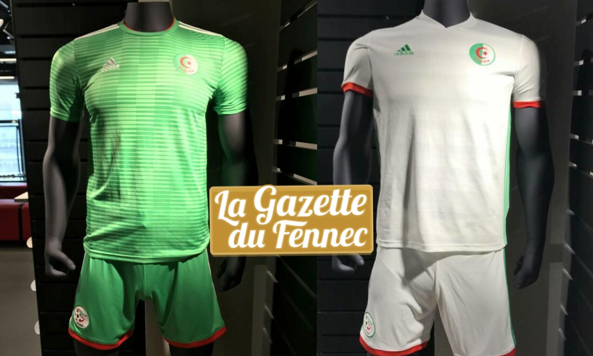 nouveaux maillots Adidas algerie