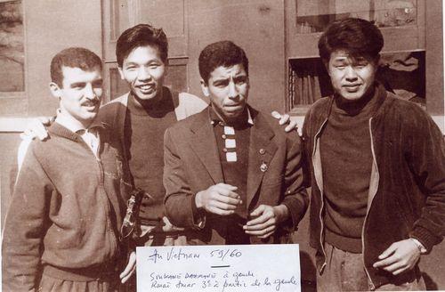 Fln football Rouai Amar Vietnam 1960