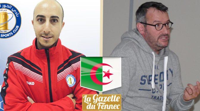 EN : Alexandre Farhi et Fabien Richard candidats au poste de préparateur physique