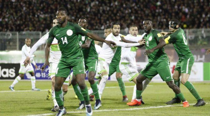 FIFA : le Nigeria sanctionné, l'Algérie gagne sur tapis vert !