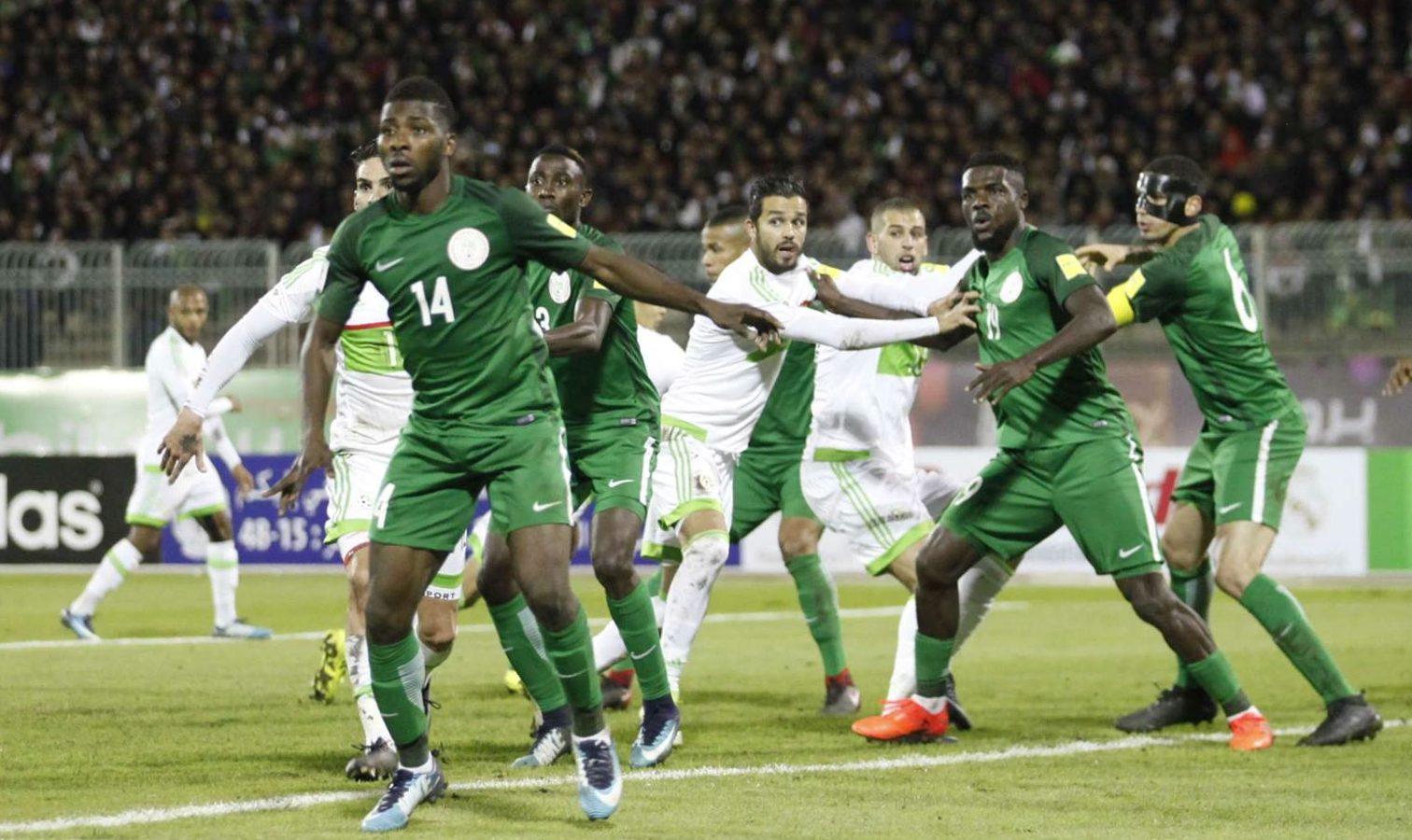 algerie nigeria nul