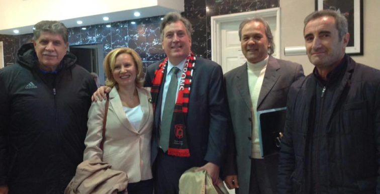 L'ambassadeur des USA au derby d'Alger !