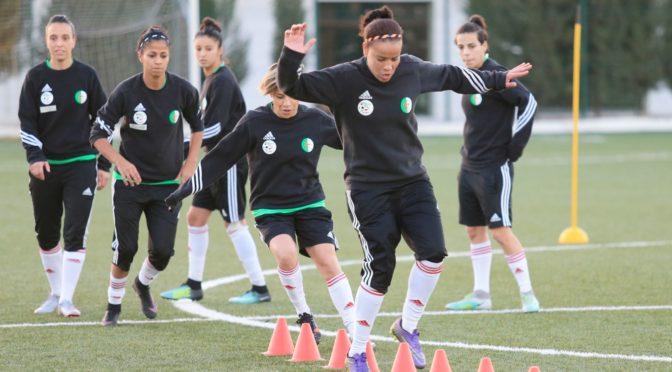 EN féminine : la sélection nationale en stage pour préparer le Sénégal