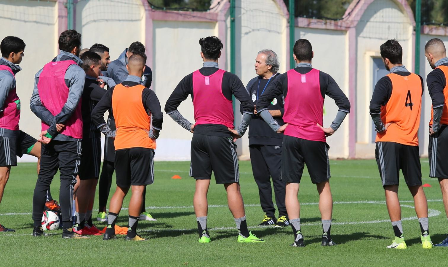 madjer groupe sidi moussa entrainement
