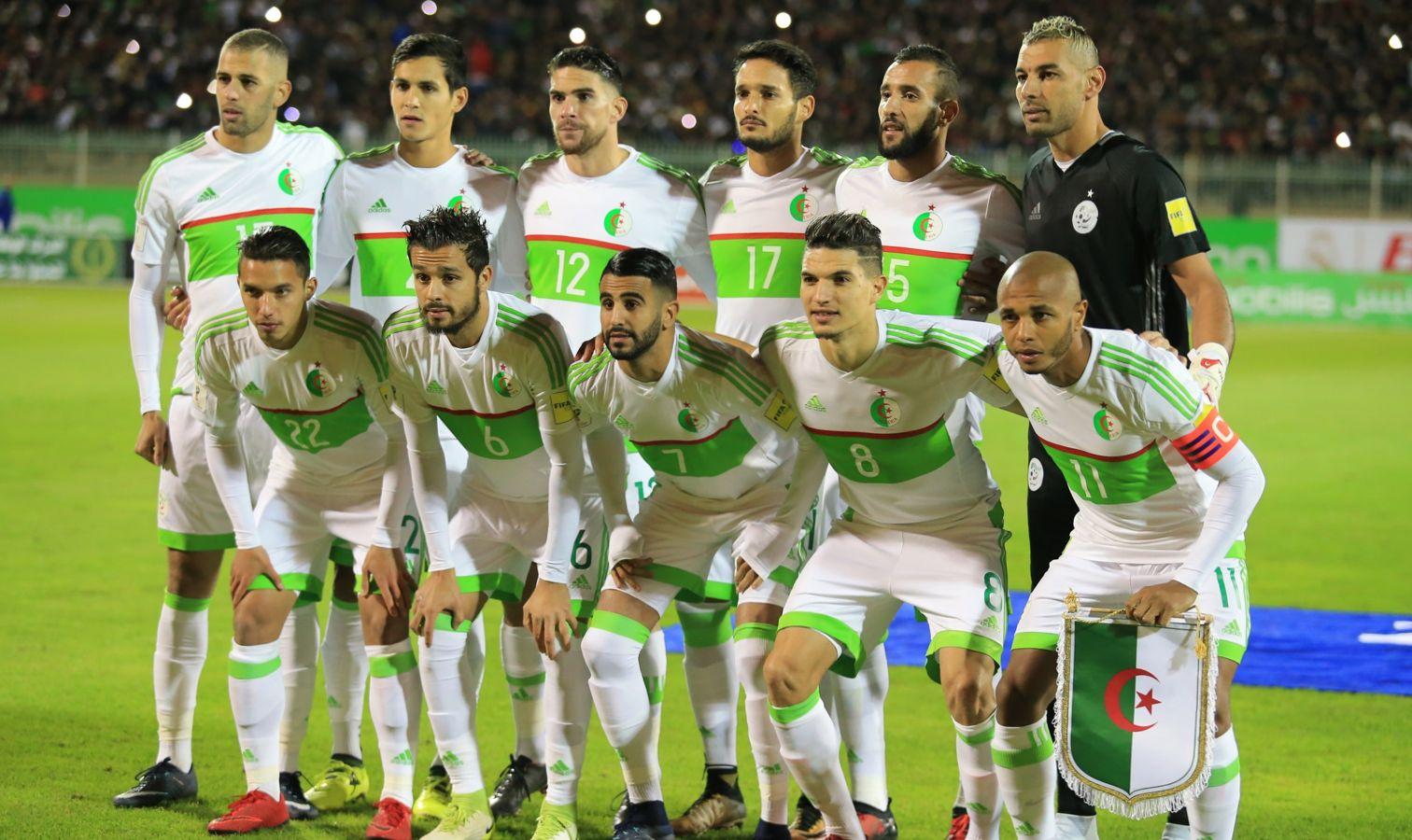 onze algerie face au nigeria