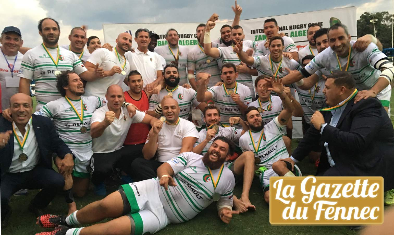 rugby zambie bronze cup algerie victoire