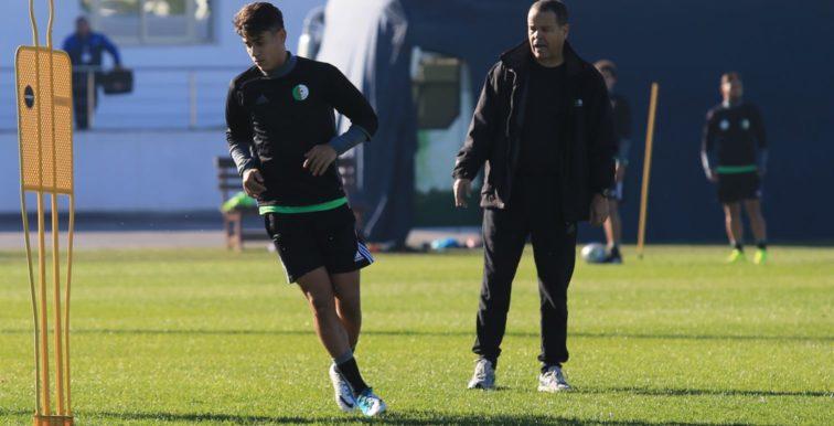 U20 : Algérie 0–3 Tunisie en amical