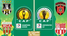 CAF : Le CRB, L'ESS et le MCA en lice ce week-end