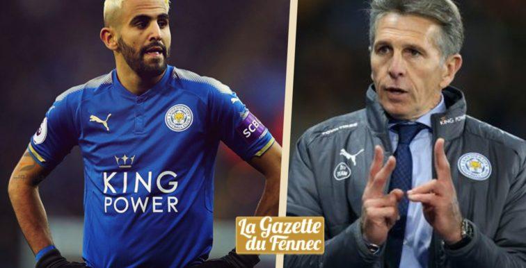 Leicester : Puel évoque le nouveau look de Mahrez