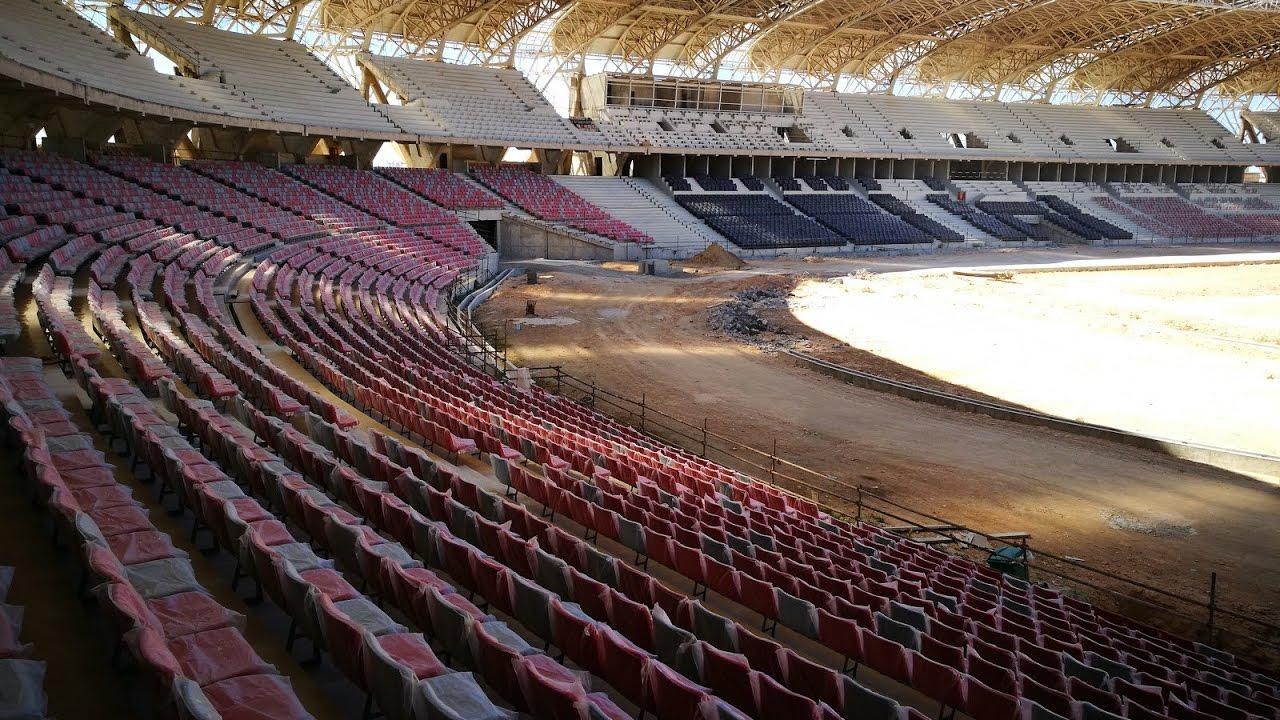 nouveau stade oran belgaid