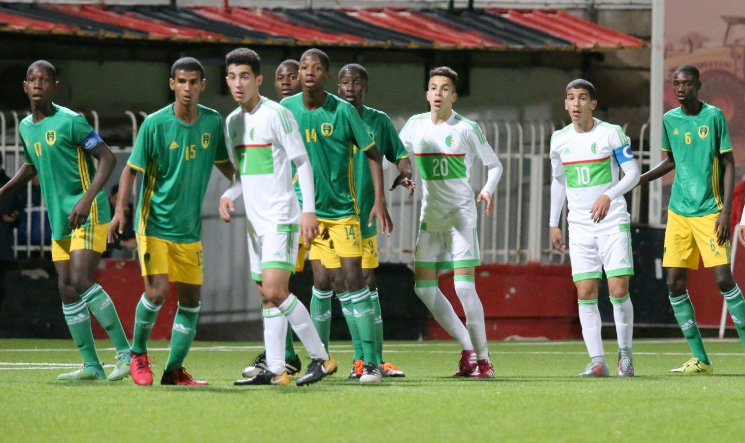U17 mauritanie action