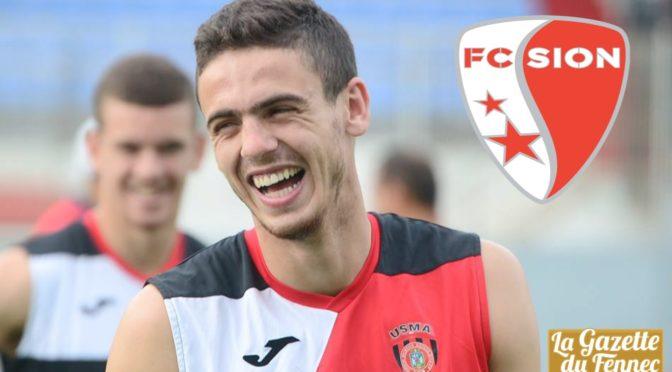 Mercato : Abdellaoui (USMA) signe 3 ans au FC Sion !