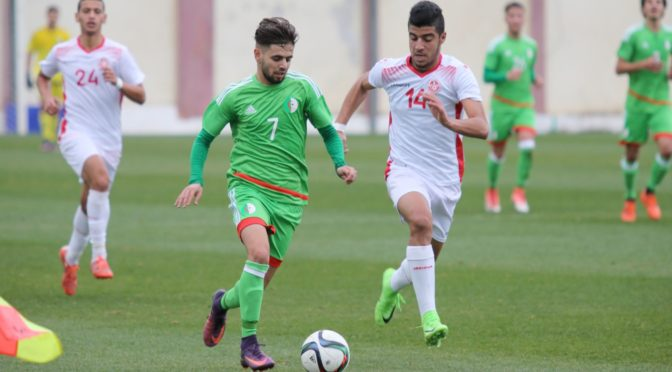 U21 : l'Algérie s'incline face à la Tunisie (0-1) en amical à Sidi Moussa