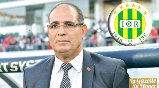 JSK : le Marocain Badou Zaki nouvel entraîneur des Canaris !