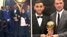 Distinction : Faouzi Ghoulam sacré Ballon d'Or algérien 2017