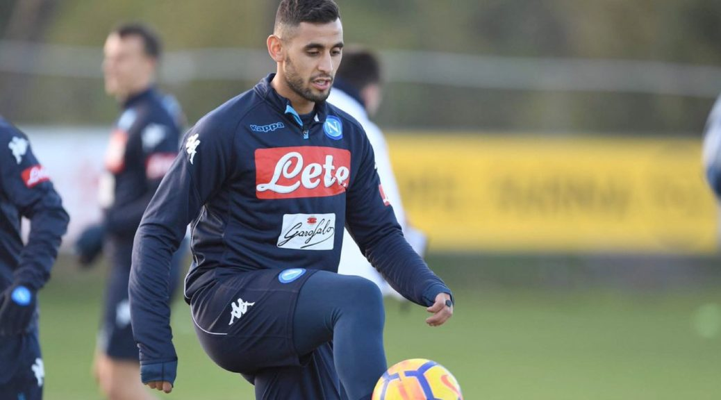 ghoulam reprise blessure naples