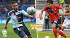 Ligue 2 : Guitane et Merghem dans l'équipe type des révélations