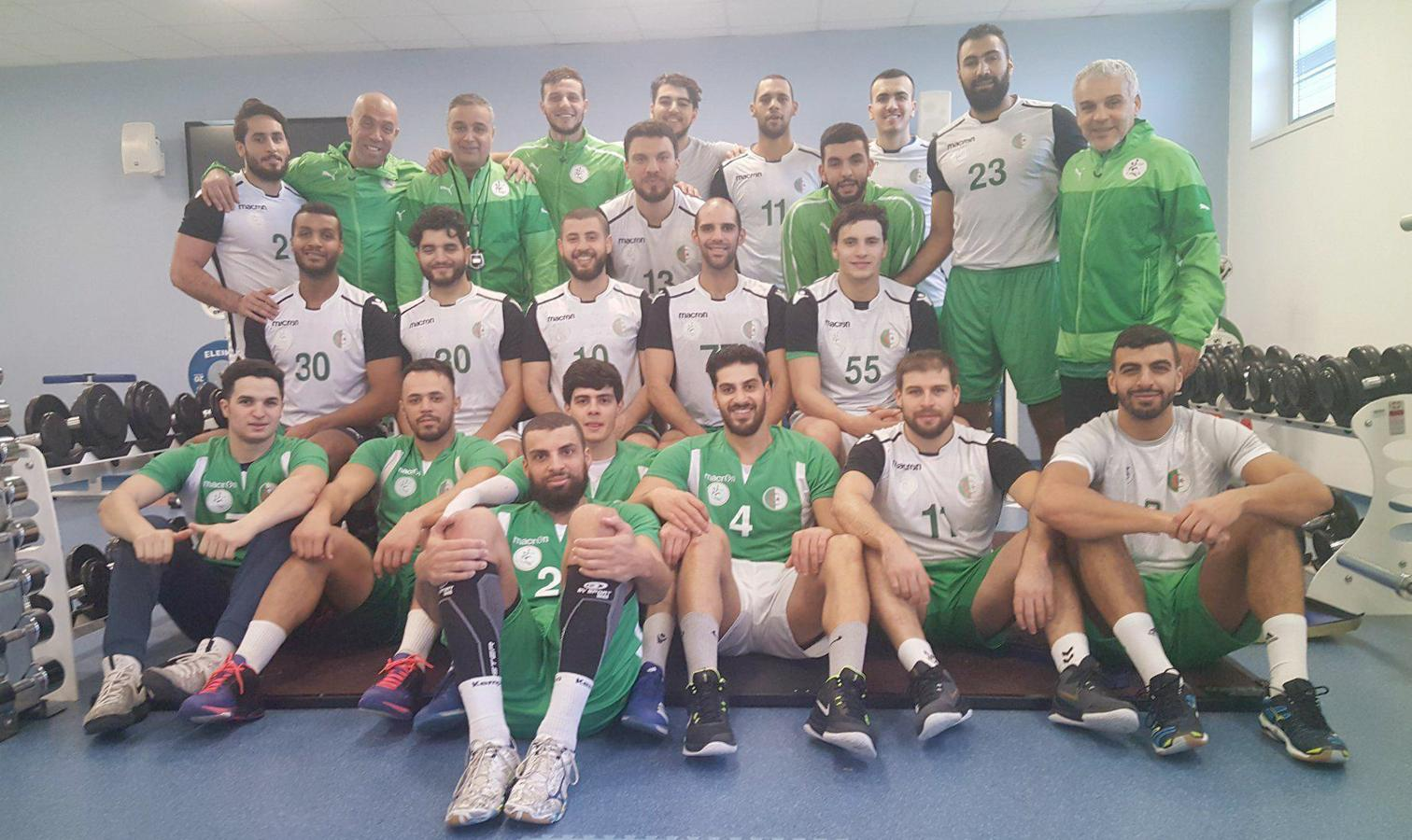 handball algerie groupe a doha